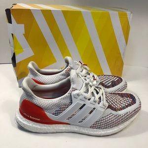 Adidas Ultra Boost 2.0 White Multicolor Rainbow